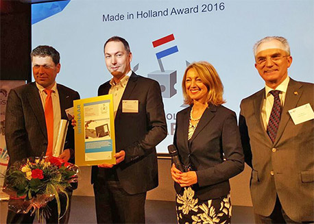 Winnaar Made in Holland Award en Zilveren Innovatie Award
